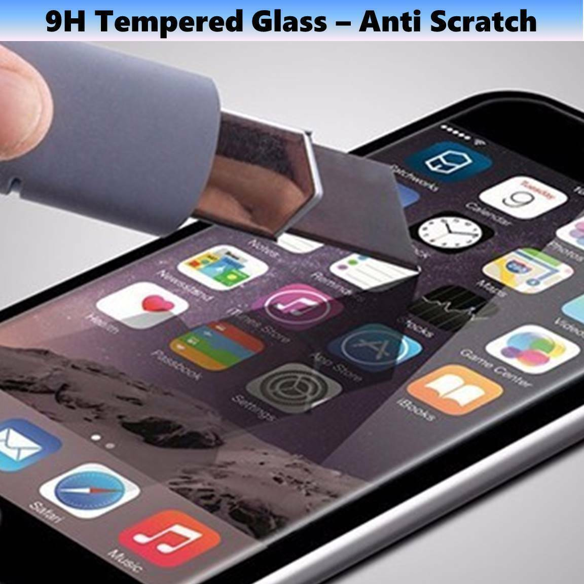 3-Pack iPhone 6/7/8/Plus/11/11PRO/11PRO MAX Tempered GLASS Screen Protector Cell Phone Accessories
