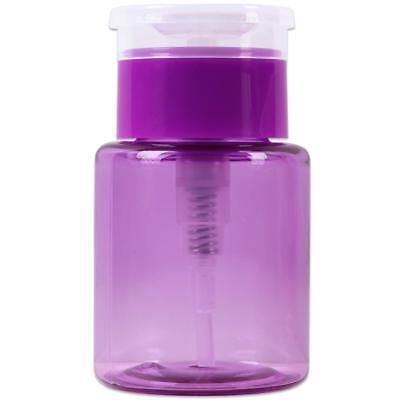 e44b54dcef7e PANA 3oz Purple Plastic Push Down Liquid Pump Dispenser Bottle with Flip  Top Cap