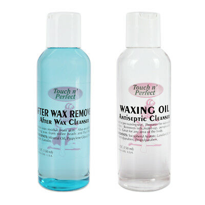 Touch n' Perfect Clean Easy Waxing Essential After Wax Remover & Waxing Oil