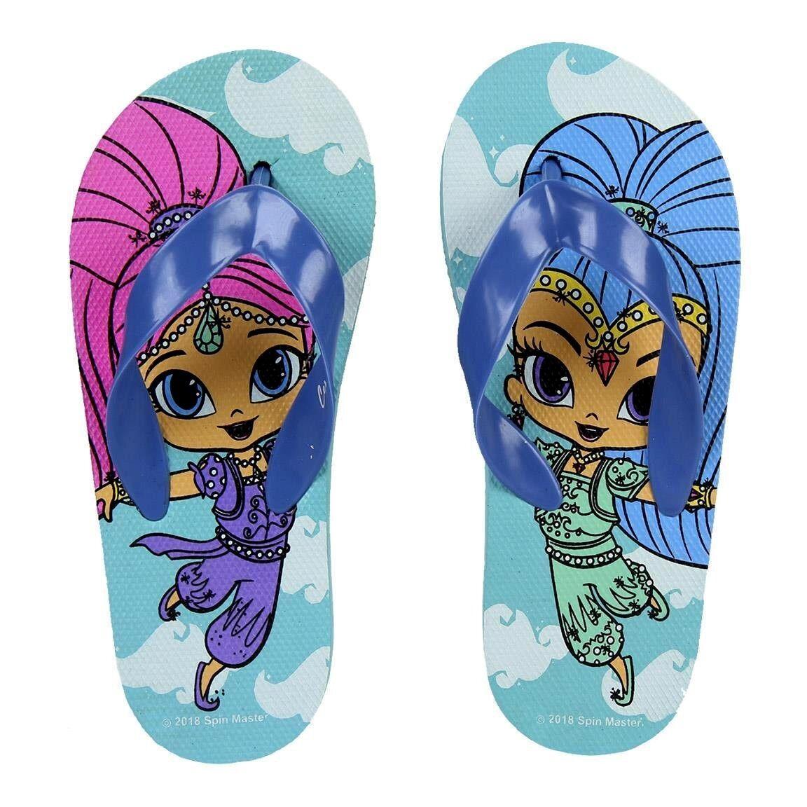 *NEW*Shimmer and Shine Flip Flops ORIGINAL PRODUCT for Kids
