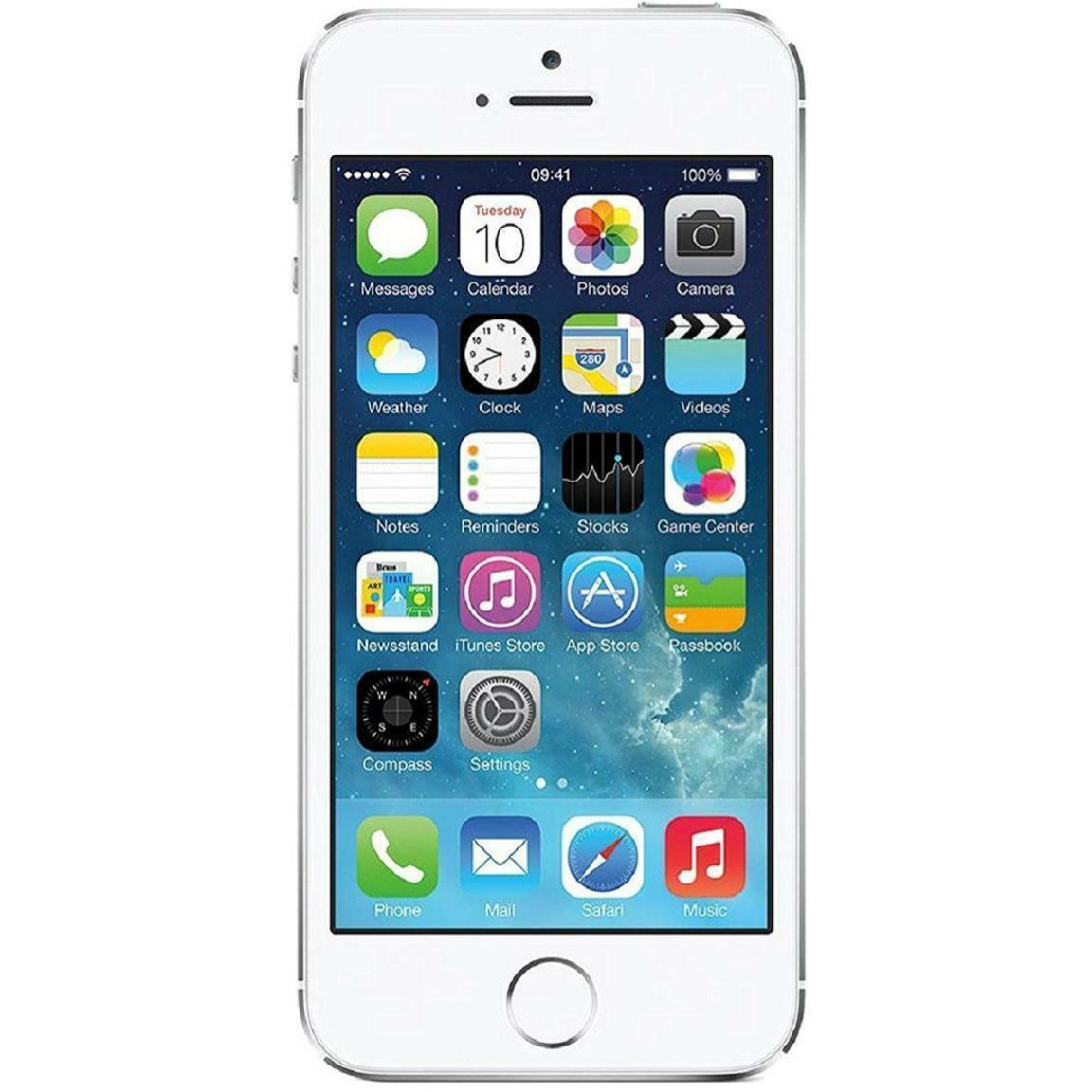 Apple iPhone 5S - Unlocked - 16GB 32GB 64GB - Gold Gray Silver - Smartphone