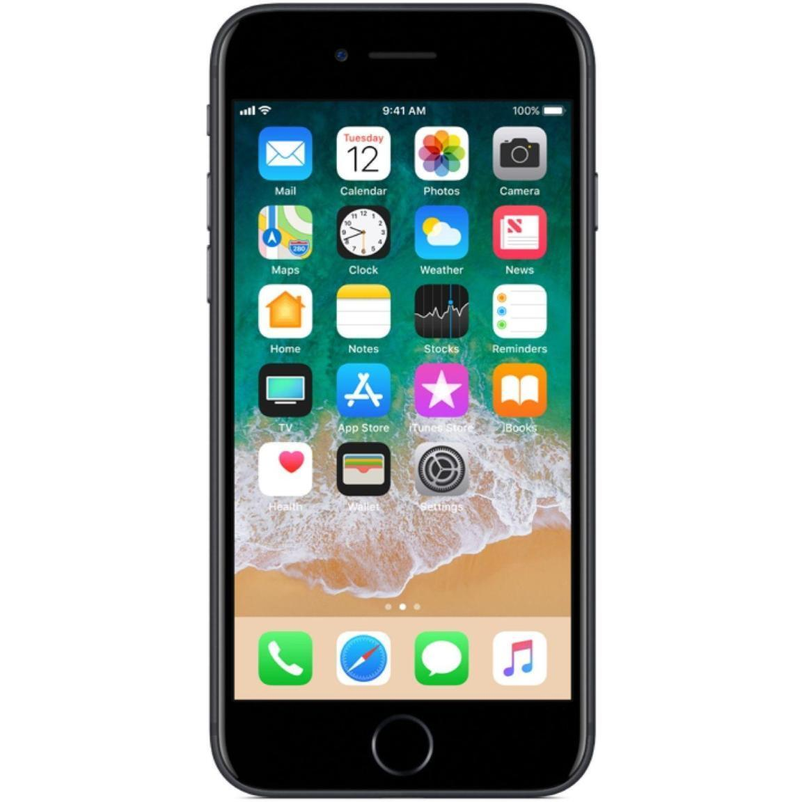 2 von 5 : Apple  iPhone 7 - 32GB - Black - (GSM) Unlocked - Smartphone • 98,89 €