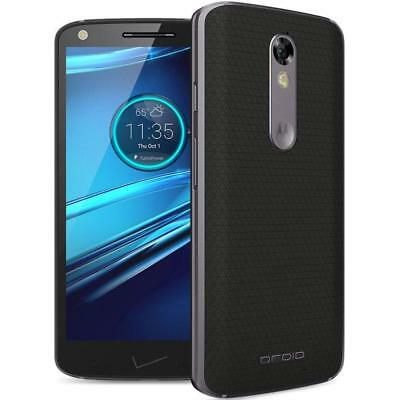 Motorola Droid Turbo 2 - 32GB - Black (Verizon + GSM Unlocked; AT&T / T-Mobile)