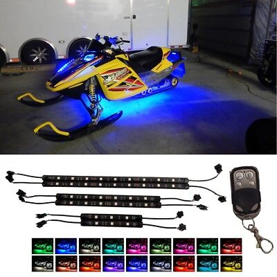 MILLION-COLOR LED YAMAHA ARCTIC PERFORMANCE SNOWMOBILE UNDERGLOW NEON LIGHT KIT