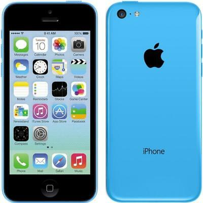 Apple iPhone 5c - 16GB - Blue - Factory Unlocked; AT&T / T-Mobile - Smartphone