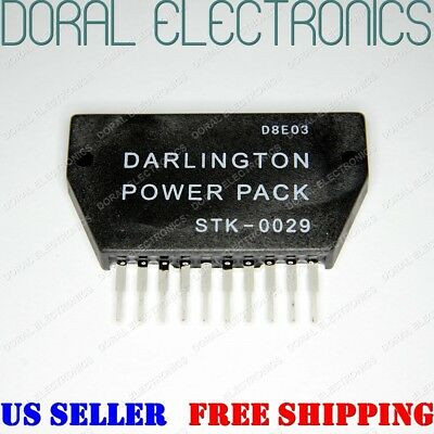 Stk0029 Stk-0029 Darlington Power Pack Heatsink Compound Ic Integrated Circuit