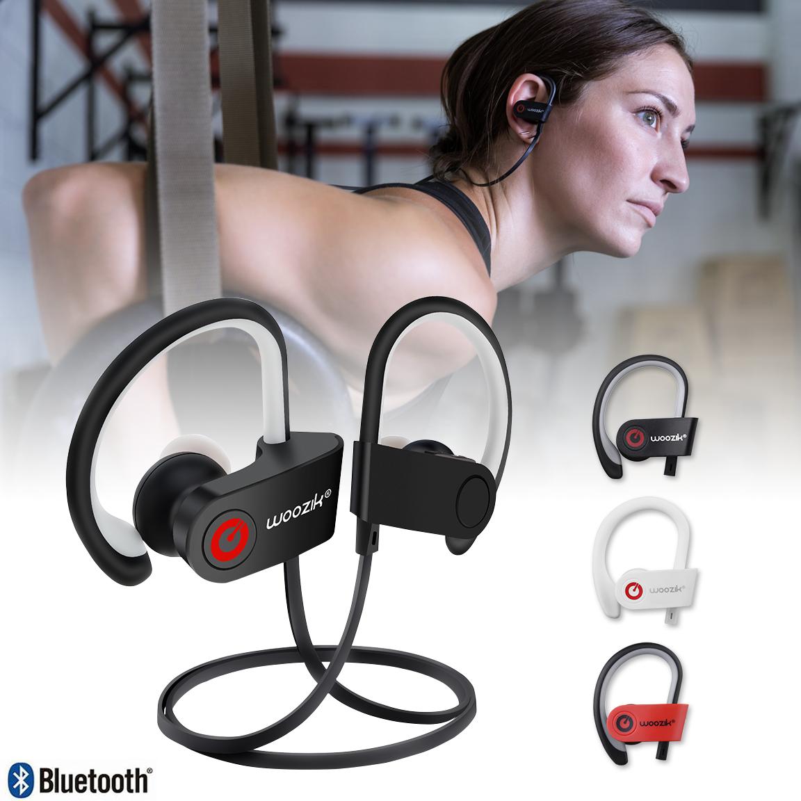 Wireless Bluetooth Headphones Earbuds Waterproof Sport Heads