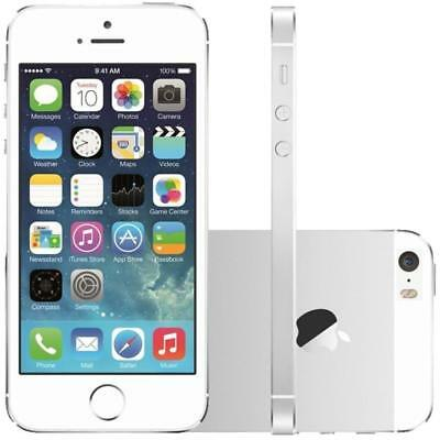 Apple iPhone 5S - 16GB - Silver / White - Unlocked - Smartphone