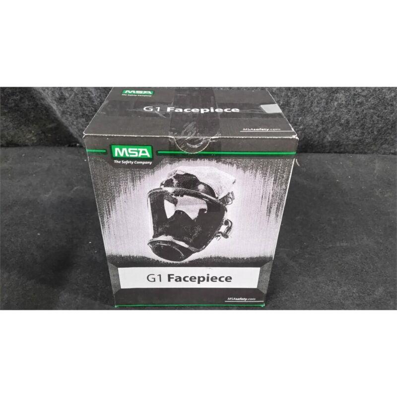 MSA 10156459 G1 Facepiece Full Face Mask Respirator Medium Nose Cup 4pt Harness
