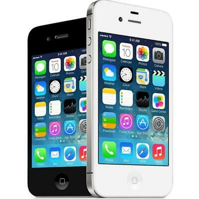 Apple iPhone 4S - Black / White - 8GB 16GB 32GB - Unlocked - Smartphone