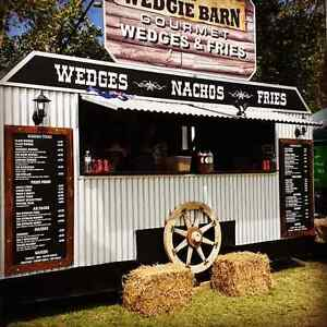 Mobile Food Van  THE WEDGIE BARN Greenwith Tea Tree Gully Area Preview