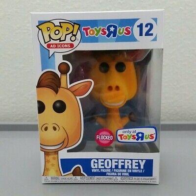 Funko Pop! Ad Icons #12 - Geoffrey the Giraffe (Flocked) - Toys R Us Exclusive