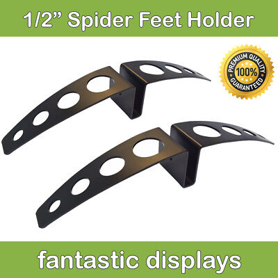 Heavy Duty 12 Thick Sign Board Display Holder Wide Based Stand 2 Pack