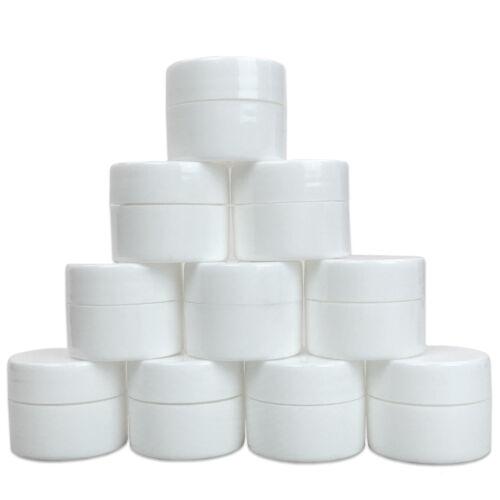 12 Pcs 7 Grams Cosmetic Empty Sample Jars Makeup Cream Lip Balm Containers 7 ml