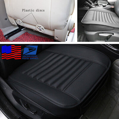 1PC Comfortable Car Seat Cover Cushion Pad PU Protector with Bottom Storage Bag