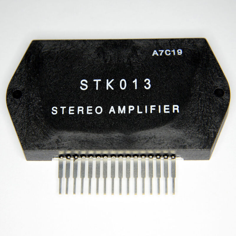 STK013 Free Shipping US SELLER Integrated Circuit IC Stereo Power Amplifier