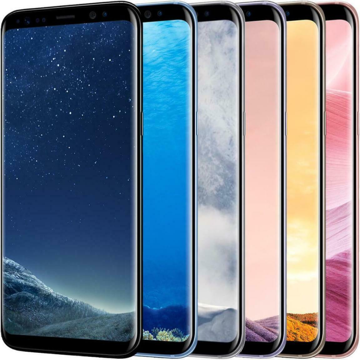Android Phone - GSM UNLOCKED Samsung Galaxy S8 64GB (SM-G950) Exynos International All Colors