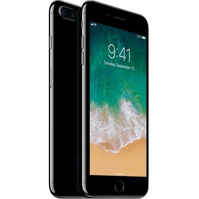 Apple iPhone 7 Plus - 128GB - Jet Black (Factory GSM Unlocked; AT&T / T-Mobile)