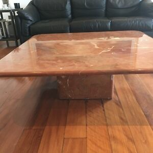 Natural marble coffee table Northbridge Willoughby Area Preview