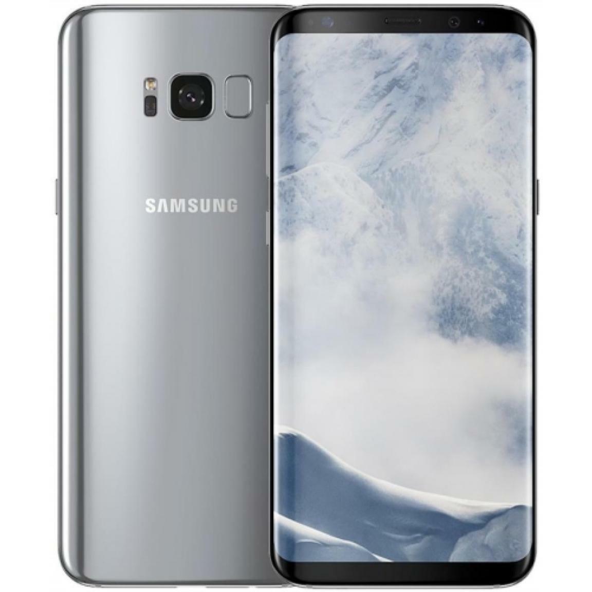 Android Phone - Samsung Galaxy S8 Plus - Silver - 64GB - Unlocked - Smartphone - G955U