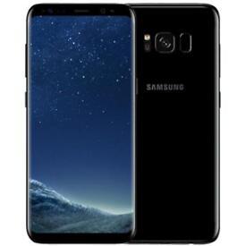 NEW UNLOCKED Samsung Galaxy S8 SM-G950U 64GB MIDNIGHT BLACK G950U GSM UNLOCKED