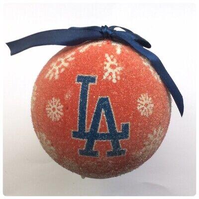 Los Angeles Dodgers MLB Baseball LED Light Up Christmas Tree Decoration Bauble