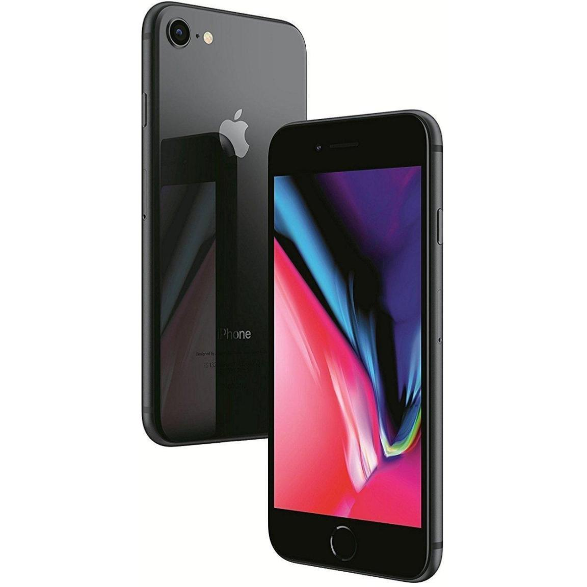Apple iPhone 8 - 64GB - Space Gray (GSM Unlocked; AT&T / T-Mobile) Smartphone