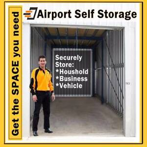 Airport Self Storage in Ascot. 50% off first 2 months.