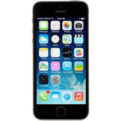Apple iPhone 5S - 64GB - Gray - Unlocked - Smartphone
