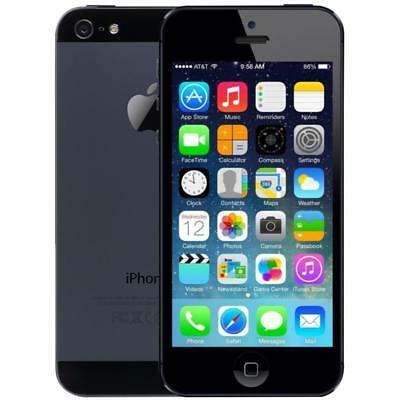Apple iPhone 5 - 16GB - Black - Unlocked - Smartphone