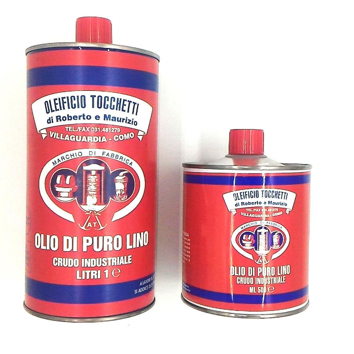 olio di lino crudo puro oleificio tocchetti