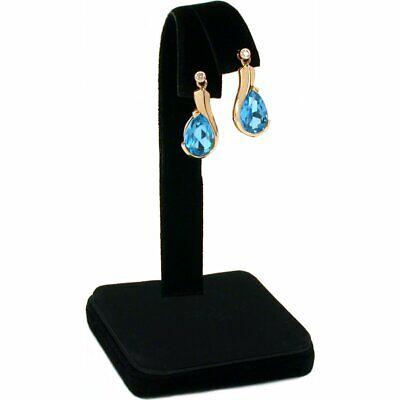 Black Velvet Earring Display Jewlery Showcase Counter 4