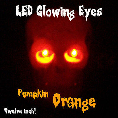 Led Glowing Eyes Halloween Orange 5mm 9 Volt Wide Angle 9v 12