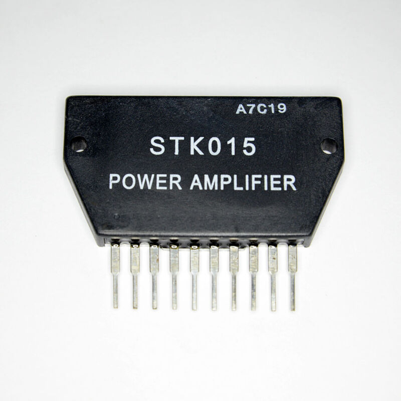 STK015 Free Shipping US SELLER Integrated Circuit IC Stereo Power Amplifier
