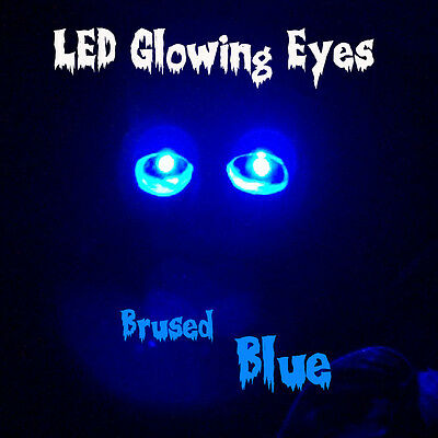 Led Glowing Eyes Halloween Blue 5mm 9 Volt Wide Angle 9v 12