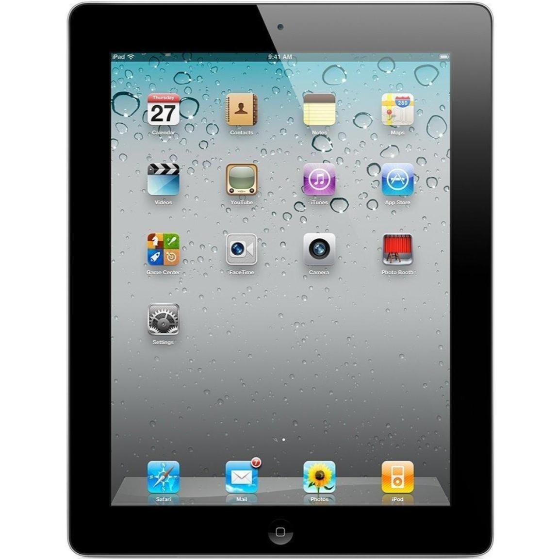 Apple iPad 2 - 16GB - Wi-Fi - 9.7in - Black (MC769LL/A) - 60 Day Returns!