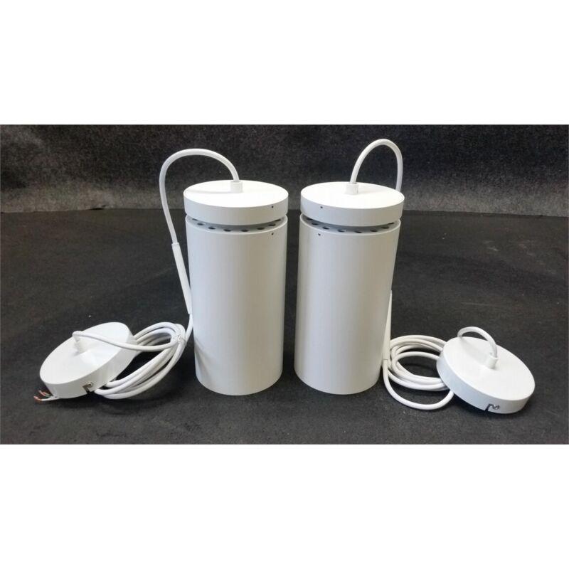 Alphabet 608RH Beta 4in Cylinder LED Light Fixtures 1800-Lumens White Lot of 2
