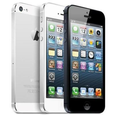 Apple iPhone 5  16GB - Black / White (GSM Unlocked AT&T / T-Mobile / Metro PCS) ](refurbished iphone 5 deals)