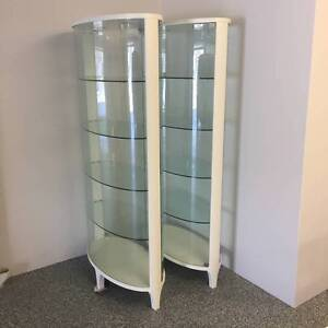 Glass Display Cabinets Scarborough Redcliffe Area Preview