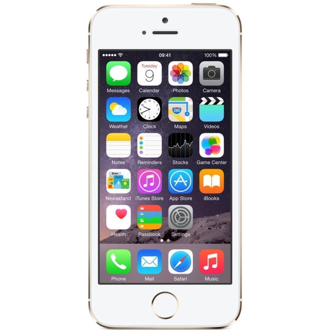 4 von 6 : Apple iPhone 5S - Unlocked - 16GB 32GB 64GB - Gold Gray Silver - Smartphone • 70,66 €