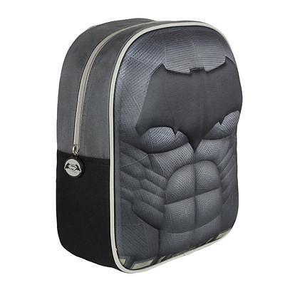 BATMAN  backpack 3D Effect High Quality EVA School Backpack Original Licensed
