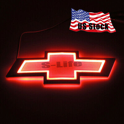 5D LED Car Auto Tail Logo Light Badge Lamp Emblem For CHEVROLET CRUZE EPICA Red