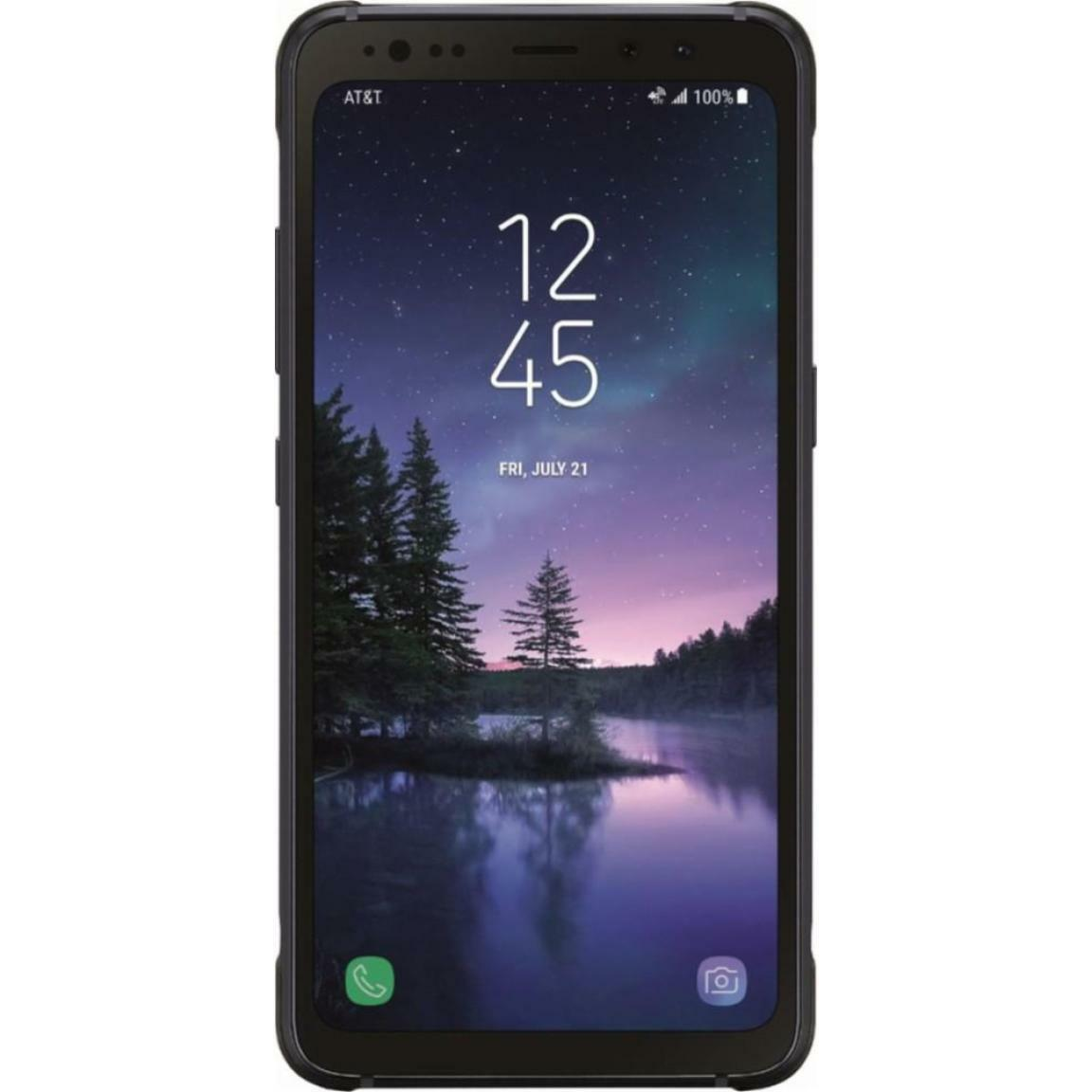 Android Phone - Samsung Galaxy S8 Active - G892A - Gray (Factory GSM Unlocked; AT&T / T-Mobile)