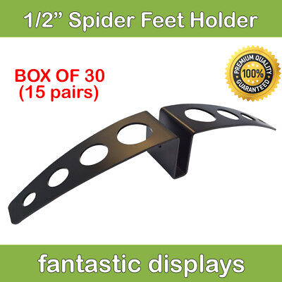 Heavy Duty 12 Thick Sign Board Display Holder Wide Based Stand - Box Of 30