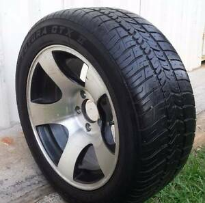 """16"""" FORD PRE AU FALCON ALLOY MULLINS SPARE WHEEL AND TYRE 5X114.3 Kallangur Pine Rivers Area Preview"""