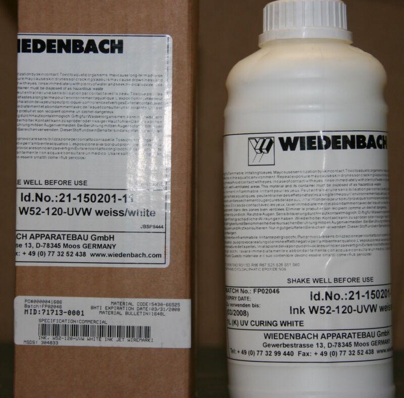 Wiedenbach UV Curable White Ink W52-120-UVW 21-150201-11