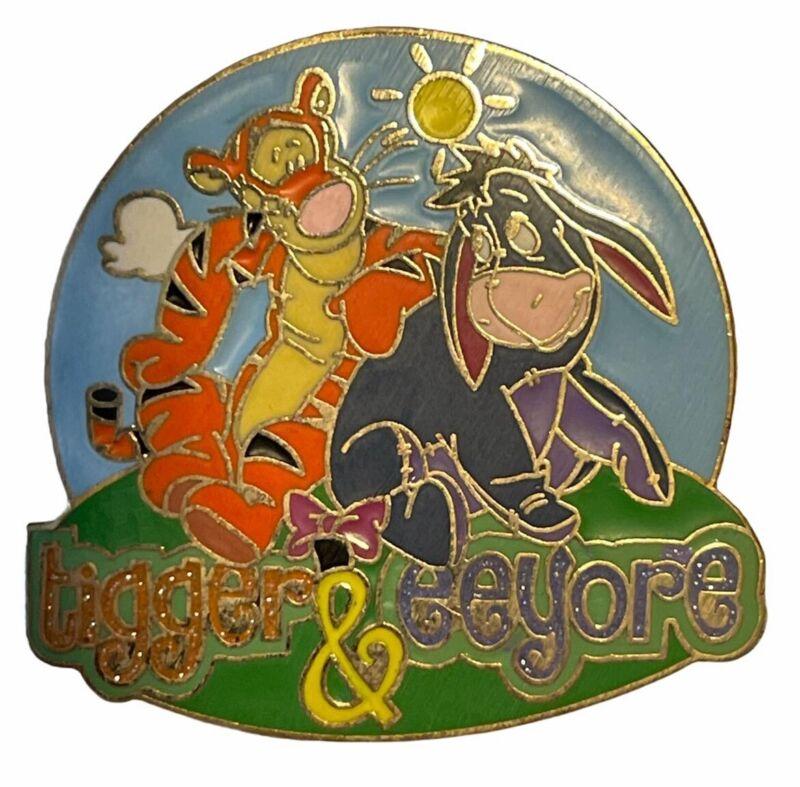 Walt Disney World & Disneyland - Starter Lanyard - Tigger & Eeyore Pin