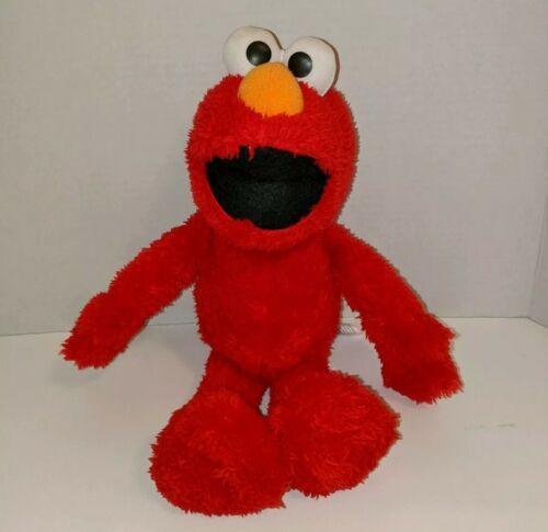 Dangly Limbs Super Soft Fur Plush Sesame Street Elmo Take Along Buddy - $5.00