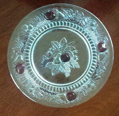 "della robbia 10 1/2"" dinner plate--westmoreland glass co."