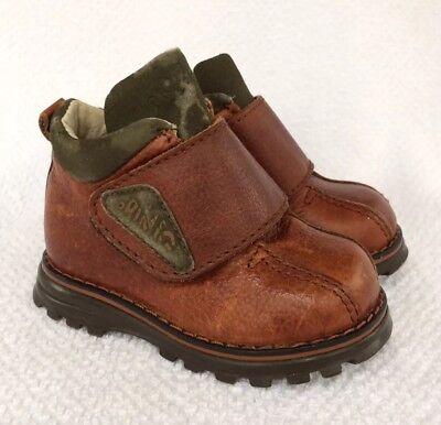 Primigi Toddler Boys Shoes - Primigi Brown Boots Toddler Baby Boys Size 3.5 4 EU 19